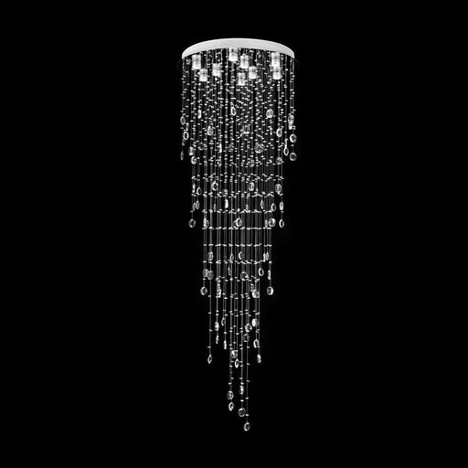 RAINDROP-86 CRYSTAL LED PENDANT - DIAMETER 860MM / WHITE LED Domus