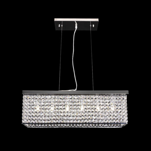 RAINBOW-60 CRYSTAL LED PENDANT - LENGTH 600MM / WHITE LED Domus