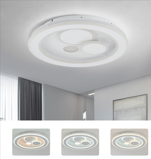 PHL Santorini Round Modern Luxury LED Ceiling Light