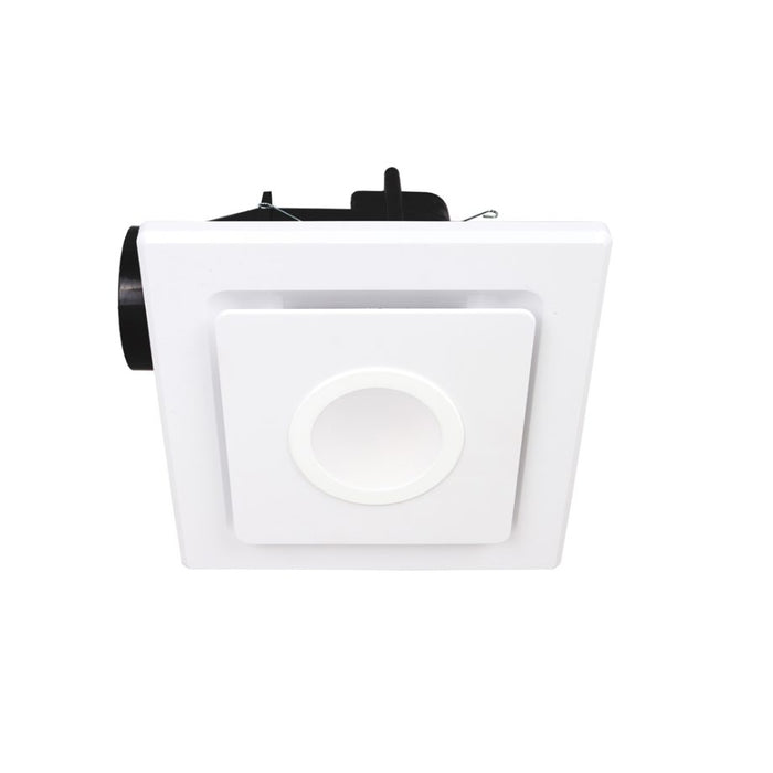 Mercator Emeline-II Small Square Exhaust Fan with LED Light