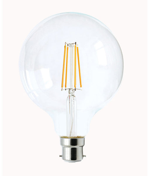 CLA Led G125 8W Filament Dimmable Globes