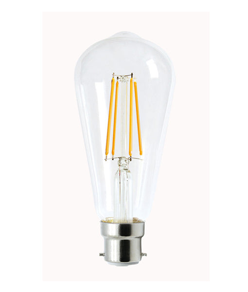CLA Led Pear 8W Filament Dimmable Globes