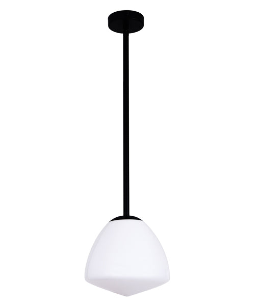CLA CIOTOLA Interior Tipped Dome Frosted Glass Pendant Lights