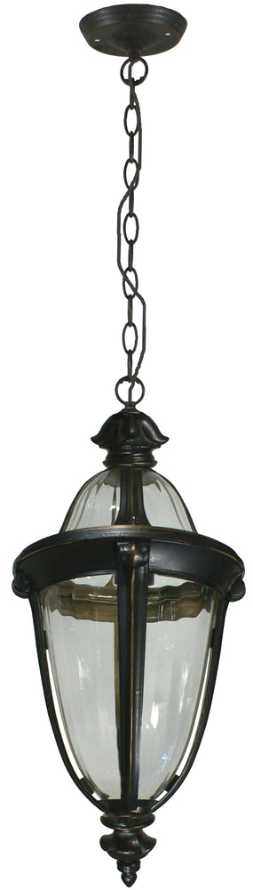 Lighting Inspiration Mayfair Int, Chain Pendant Antique Bronze