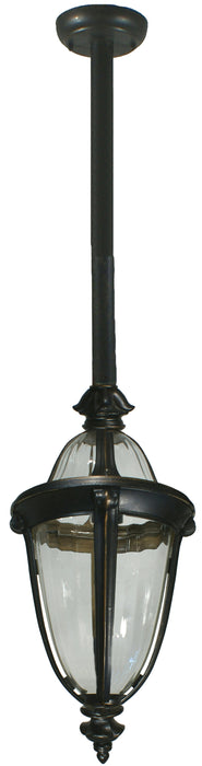 Lighting Inspiration Mayfair Ext, Rod Pendant Antique Bronze