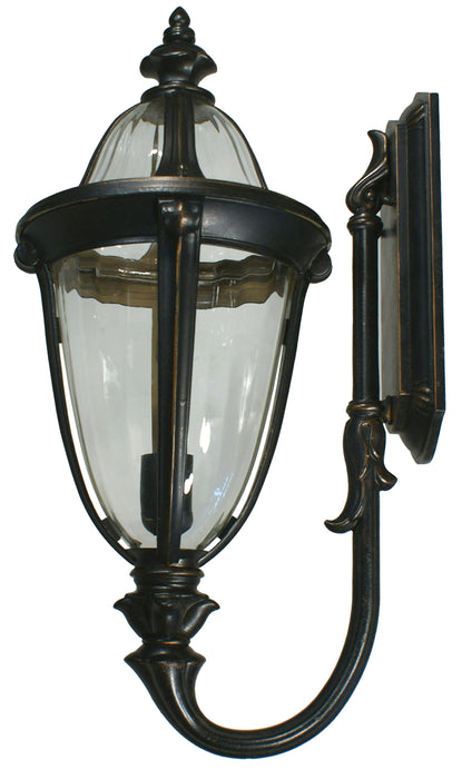 Lighting Inspiration Mayfair Ext, Wall Bracket Antique Bronze