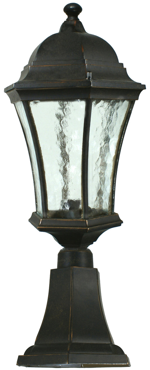 Lighting Inspiration Strand Ext Pillar Mount Antique Bronze