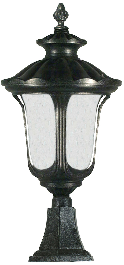 Lighting Inspiration Waterford Pillar Mount Antique Black