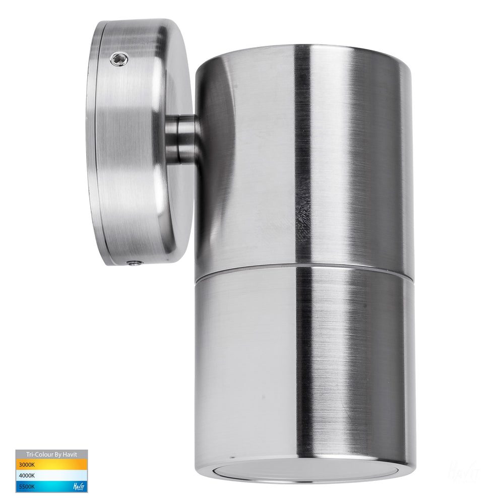 Havit HV1105T HV1107T Tivah 316 Stainless Steel TRI Colour Fixed Down Wall Pillar Lights