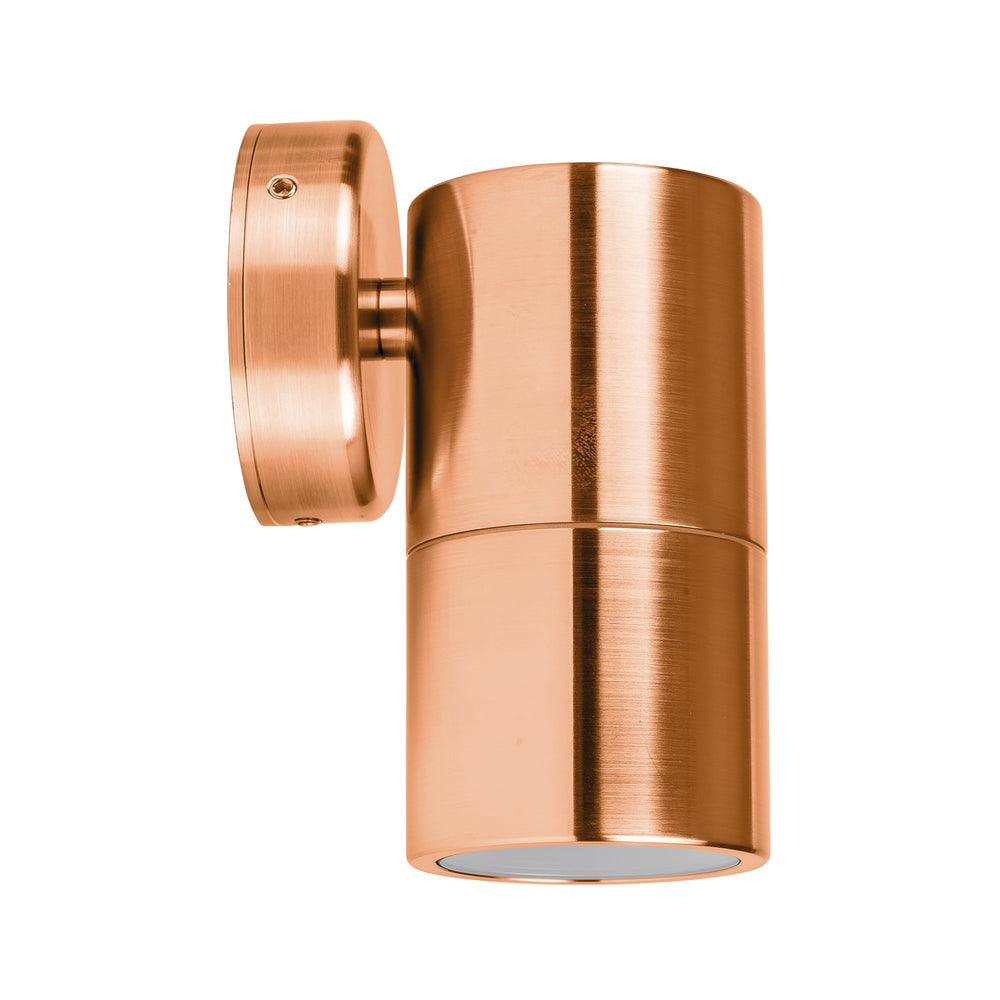 Havit Tivah Solid Copper Fixed Down Wall Pillar Lights
