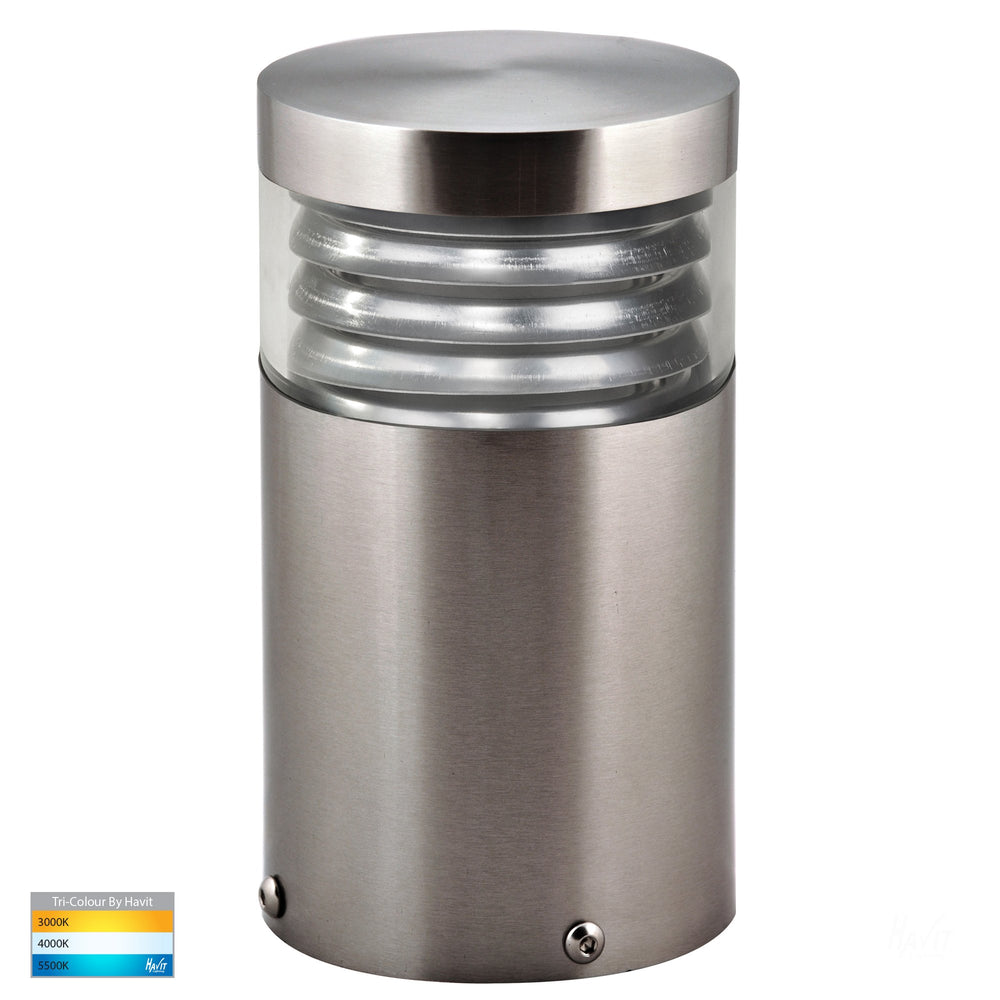Havit HV1615T MINI Black Louvred LED Bollard Light