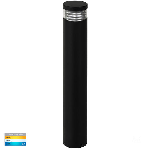 Havit HV1616T Maxi 600 Louvred Tri Colour LED Bollard Light