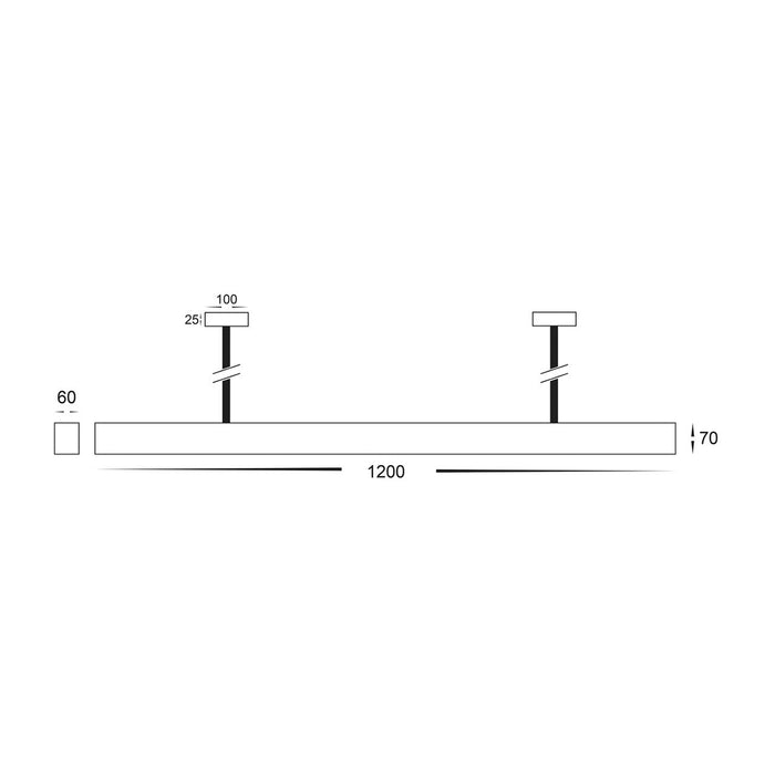 Havit HV6001T Proline 6070 Led Pendant