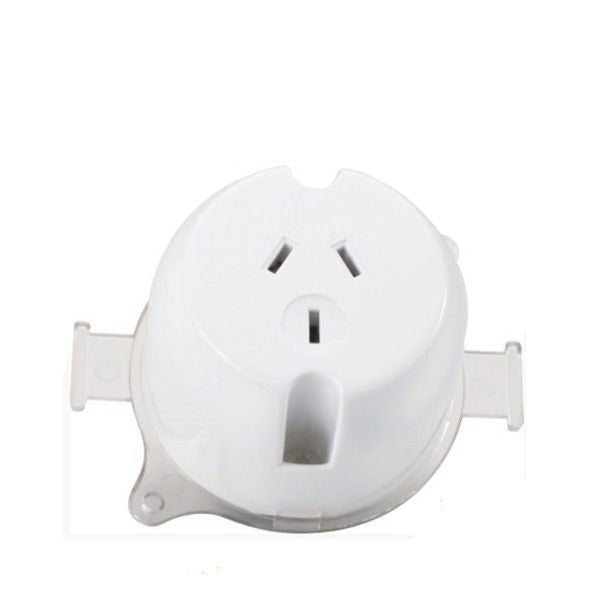 3A Single Socket Plug Base