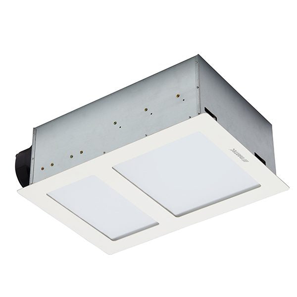Martec Aspire Bathroom Heater & Exhaust Fan with Tricolour 20W LED Light