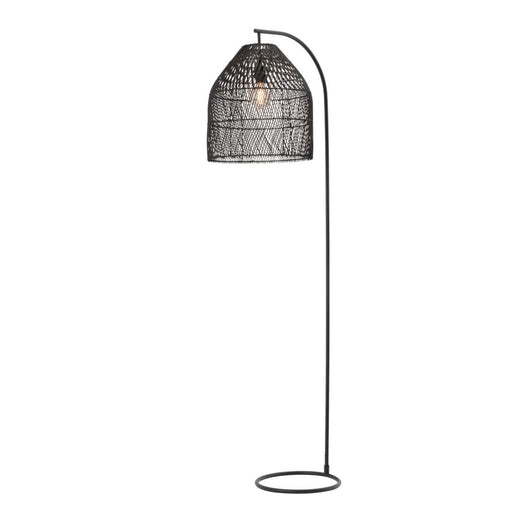 Mercator Sawyer Rattan Floor Lamp