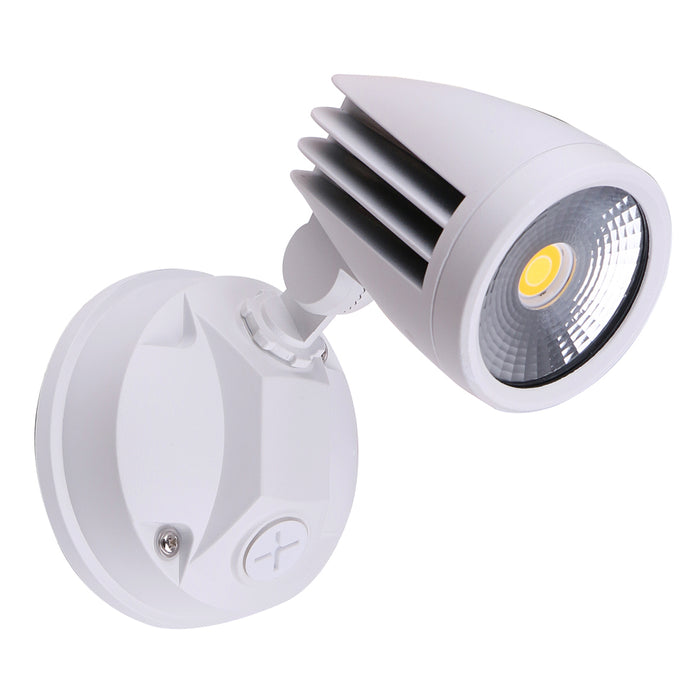 Martec Fortress II 15W Tricolour LED Single Exterior Security Light