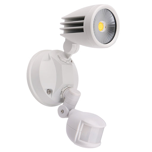 Martec Fortress II 15W Tricolour LED Single Exterior Security Light With PIR Sensor