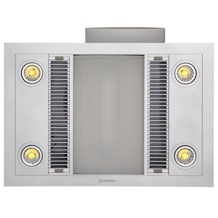 Martec Linear 3 in 1 Bathroom Heater With Exhaust Fan And LED Lights