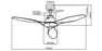 Martec Triumph 52″ Ceiling Fan with ABS Blades
