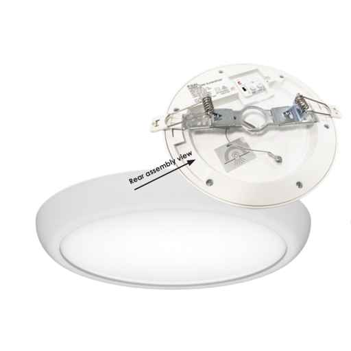 SAL FRISBEE SL2104TC 8/25W Low Profile LED Oyster Light