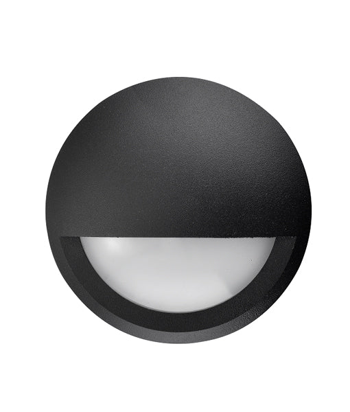 CLA Ste Exterior LED Surface Mounted Eyelid Step Lights