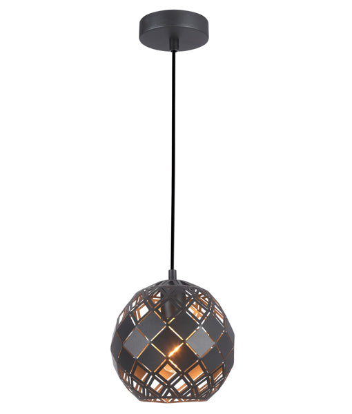 CLA TUILE Interior Embossed Tiled Iron Pendant Lights