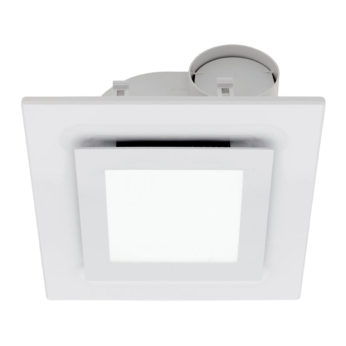 Starline DIY Square Exhaust Fan with LED Light Mercator Lighting