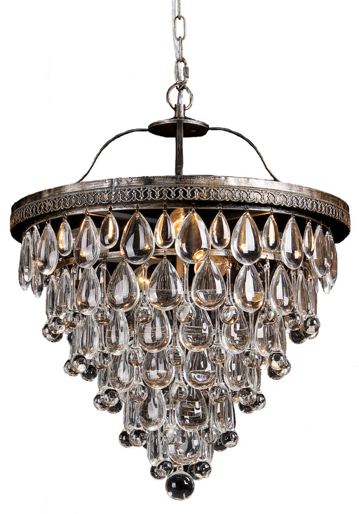 LIGHTING INSPIRATION CASCADE MEDIUM 45cm BASKET 6LT Chrome