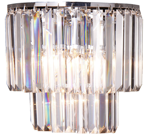 LIGHTING INSPIRATION CELESTIAL 2LT WALL BRACKET Chrome