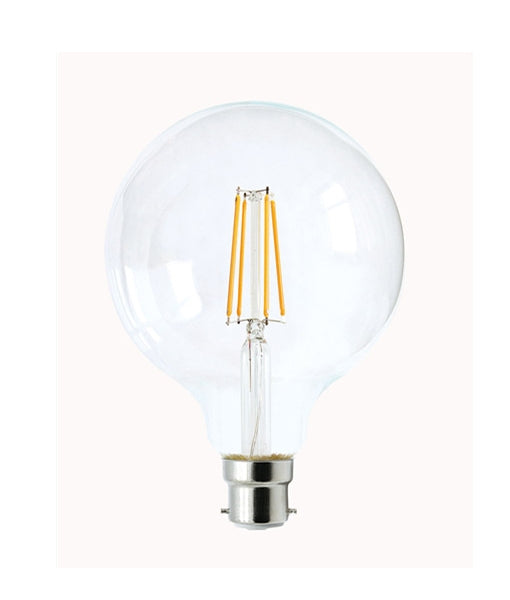 CLA LED G95 Filament Dimmable Globes