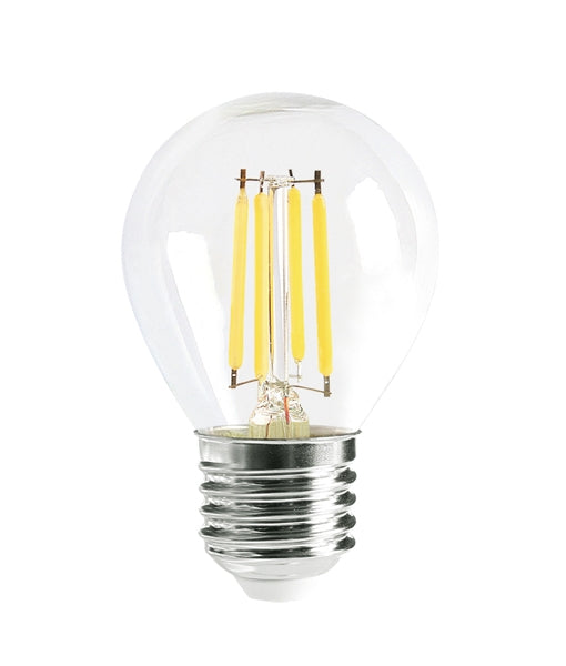 CLA LED Fancy Round 4W Filament Dimmable Globes