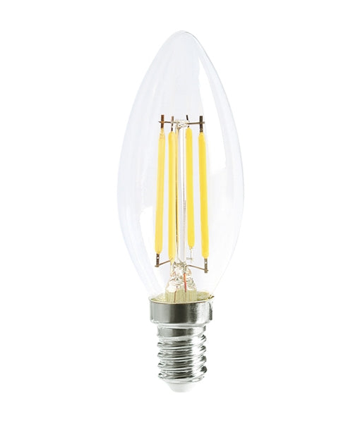 CLA LED Candle 4W Filament Dimmable Globes