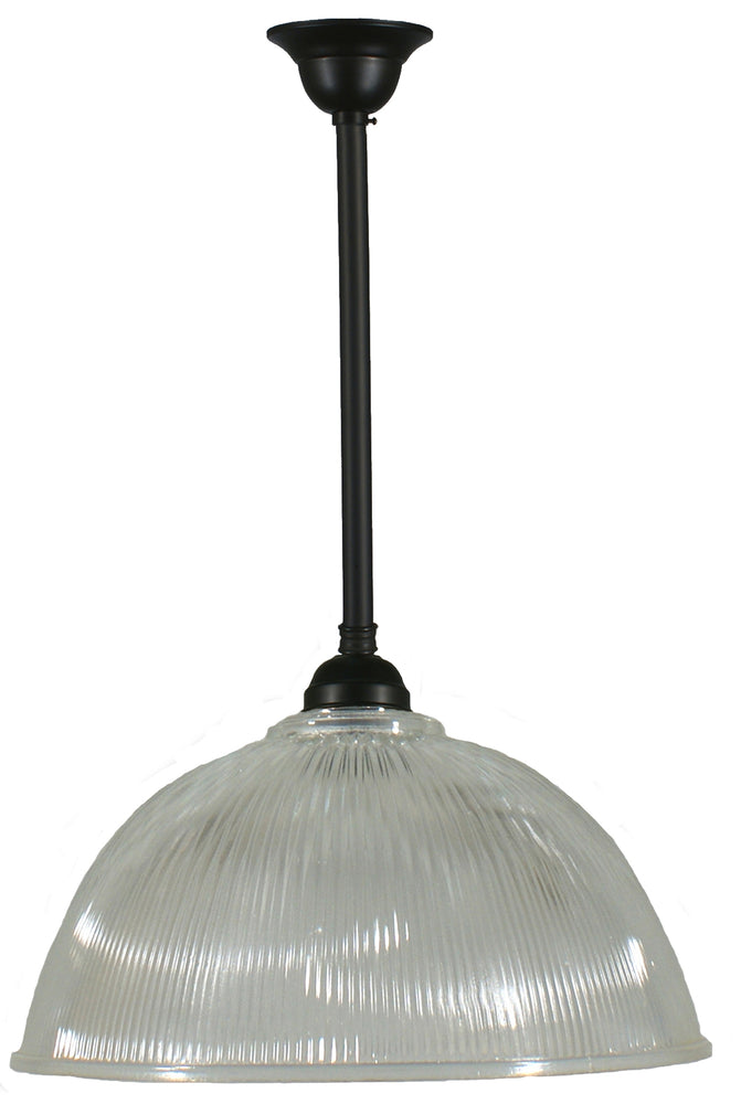 "LIGHTING INSPIRATION CLAREDON 15"" CLR W/ASTON R/S 3/4""X1/2 MT Patina Black"