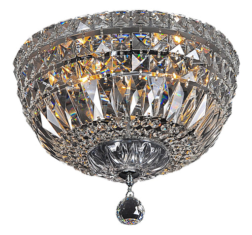 LIGHTING INSPIRATION CLASSIQUE FLUSH 3LT SMALL 30cm Chrome