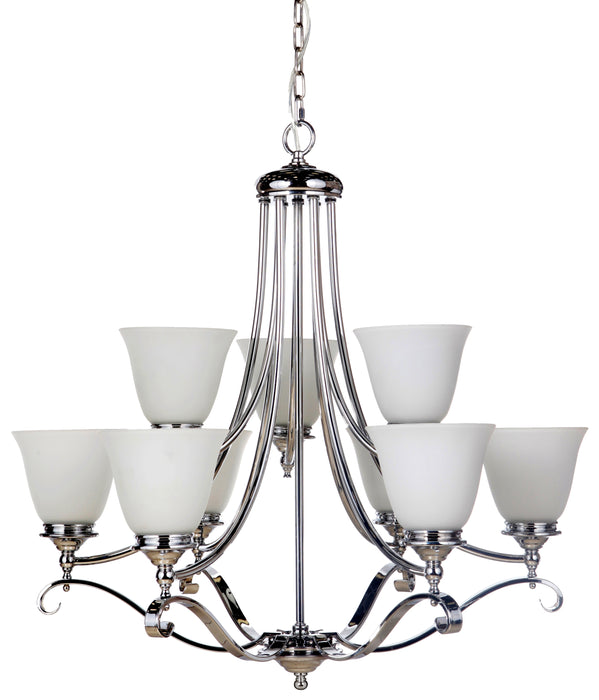 LIGHTING INSPIRATION DALLAS 6+3 (9 LT) PENDANT