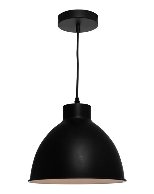 Cougar Dome 1lt Pendant Black