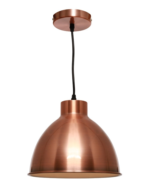 Cougar Dome 1lt Pendant Copper
