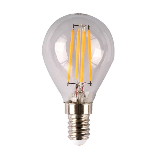 4w Dimmable LED Filament Fancy Round Clear Style Lamp SAL