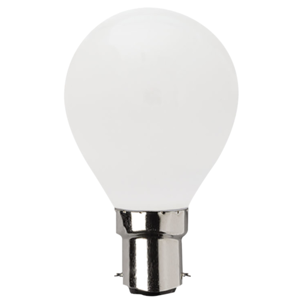 SAL LED FANCY ROUND GLOBE OPAL DIMMABLE LFR 4W