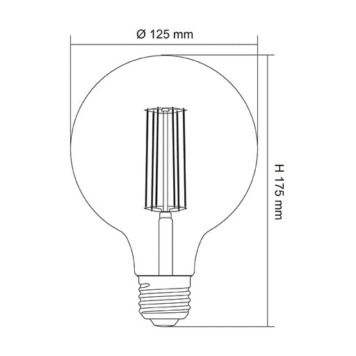 SAL LED DECO LAMP G125