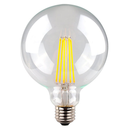 8 WATT DIMMABLE LED FILAMENT CLEAR SPHERICAL LG125 SAL