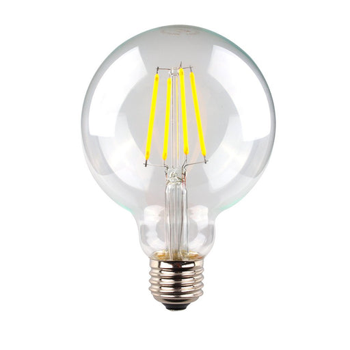 6 WATT DIMMABLE LED FILAMENT CLEAR SPHERICAL LG95 SAL
