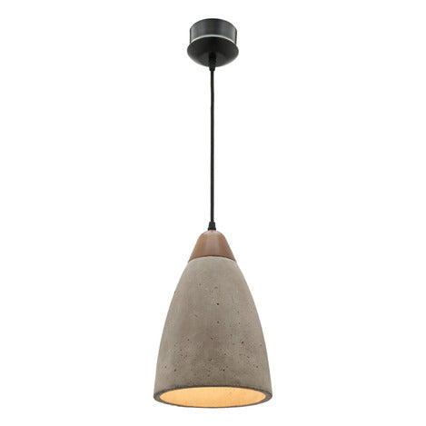 Danska 1Lt Concrete Pendant Mercator Lighting
