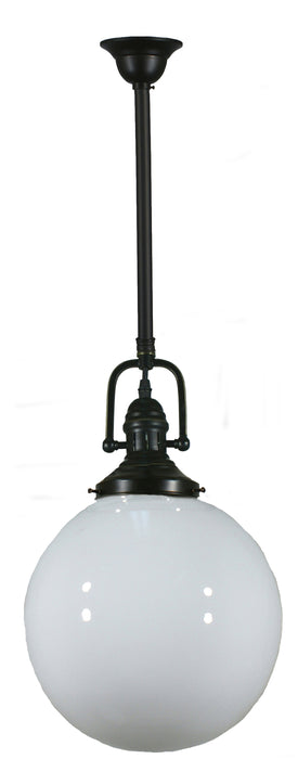 "LIGHTING INSPIRATION PARAMOUNT  R/S 3/4""  W/SPH 10"" O/GLOS Bronze"