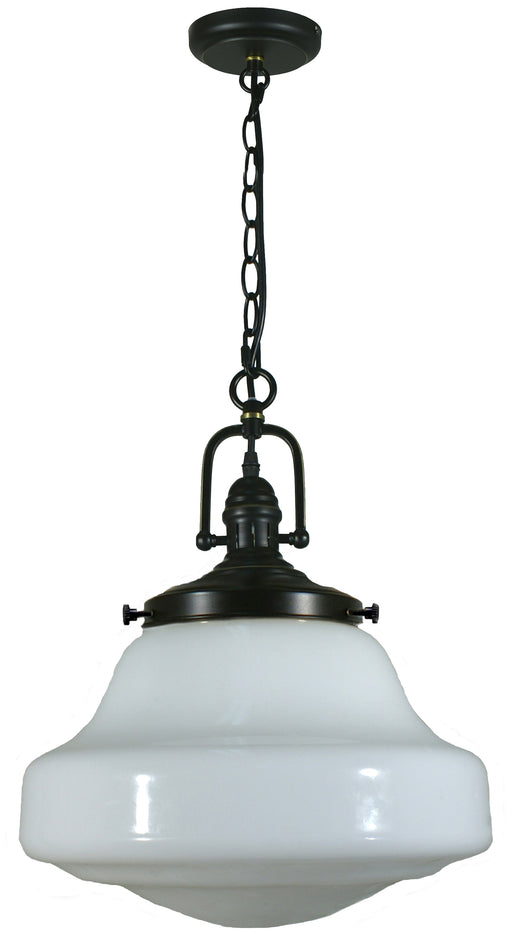 LIGHTING INSPIRATION PARAMOUNT 1LT PND W/LINCOLN S/HSE Bronze