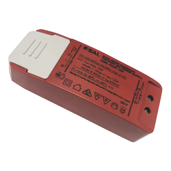 SAL PLUTO 15DV Dual Power Constant Voltage LED Drivers