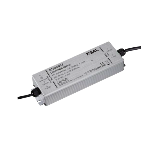 SAL Pluto 200W Australian Approved Constant Voltage LED drivers IP66