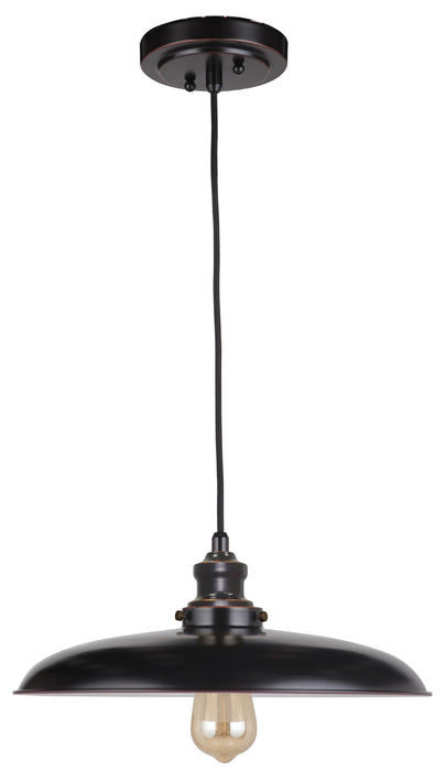 LIGHTING INSPIRATION RAZE CORD PENDANT 1LT Bronze