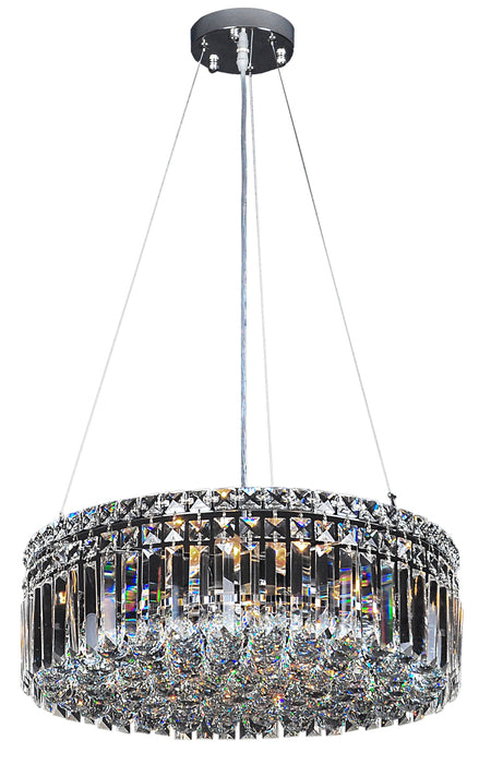 LIGHTING INSPIRATION ROTONDO PENDANT MEDIUM 40cm 5LT  Chrome